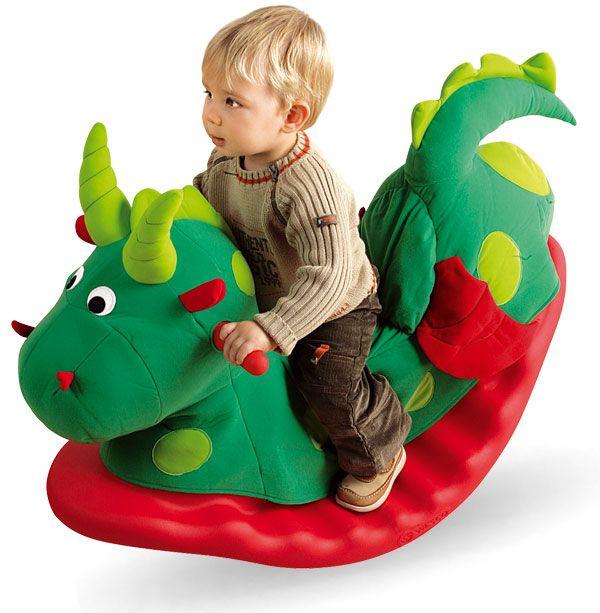 Bascule confortable pour enfant Dragon