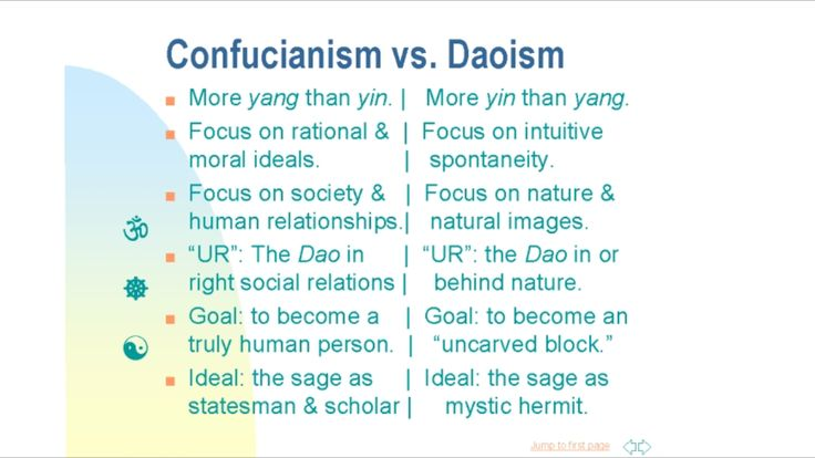 jainism vs daoism What could the beliefs and traditions of a zoroastrian, a person of jewish faith, a  buddhist, a follower of confucius, and a christian have in common how do.