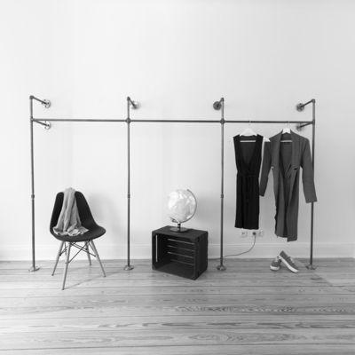Spectacular Offener Kleiderschrank Offene Garderobe TRIPLE HIGH