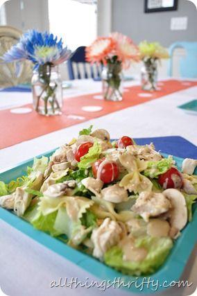 Best Chicken Caesar Salad {Perfect for a baby shower}