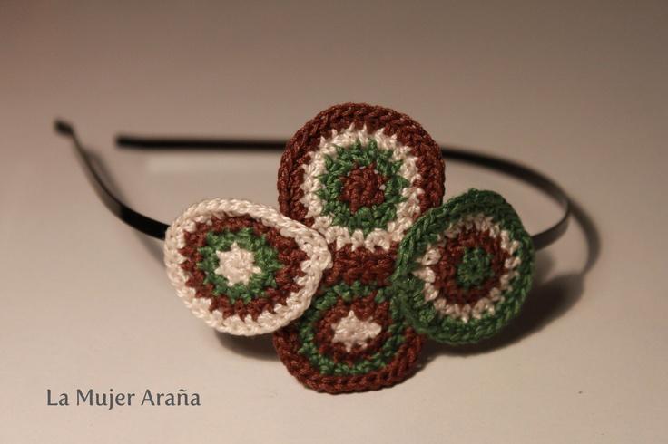 114 best images about diademas tejidas on pinterest - Diademas a crochet ...