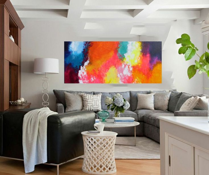 Buy Summer Symphony 150x50cms Large original abstract painting by artist Susan Wooler, Acrylic painting by Susan Wooler on Artfinder. Discover thousands of other original paintings, prints, sculptures and photography from independent artists.