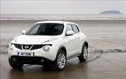 Nissan Juke, picture it brown