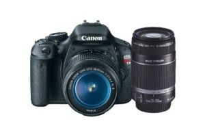 Canon EOS Rebel T3i 18 MP CMOS APS-C Sensor DIGIC 4 Image Processor Digital SLR Camera with EF-S 18-55mm f/3.5-5.6 IS Lens   Canon EF-S 55-250mm f/4.0-5.6 IS Telephoto Zoom Lens