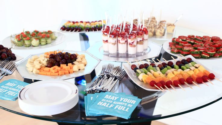 Launch Party Appetizers and Desserts