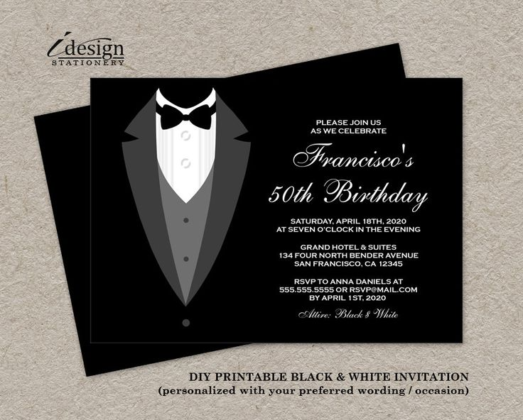 all white party invitations templates