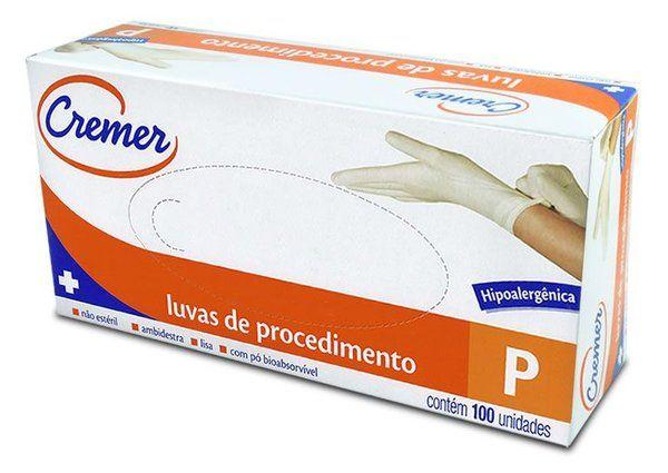 LUVAS DE PROCEDIMENTO P C/100 UN CREMER