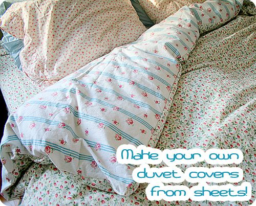 In Fi Blog Archive Tuesday Tutorial Duvet Cover From Sheets