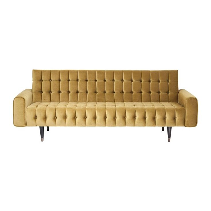 Zooff Kare Design Milchbar Sofa Sofa Honey 3-seater
