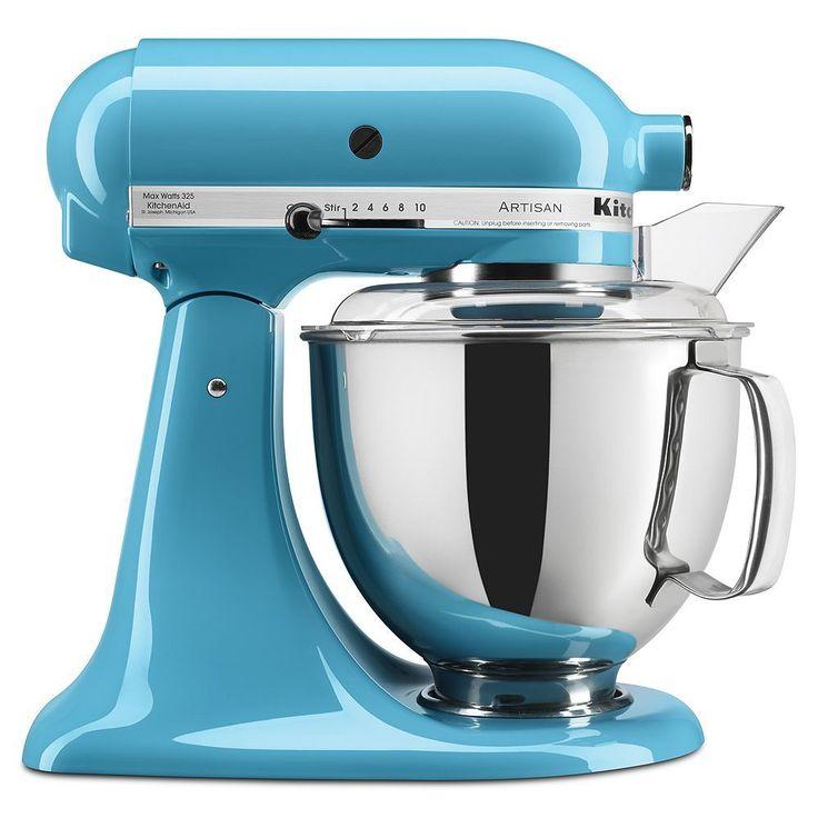 Kitchenaid artisan ksm150pscl stand mixer crystal blue