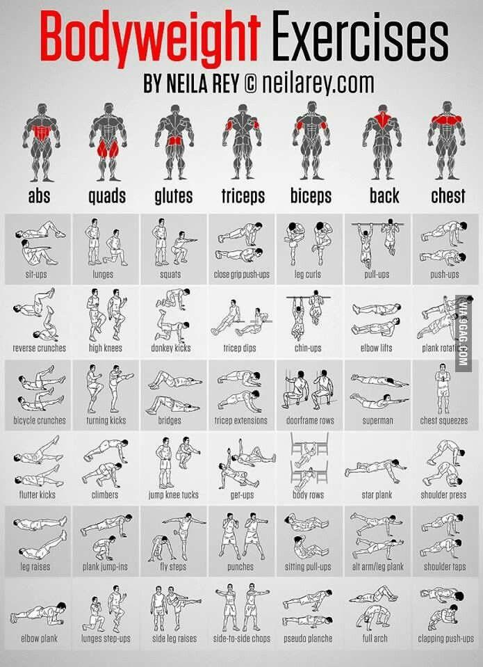 #Exercises #BodyFitness