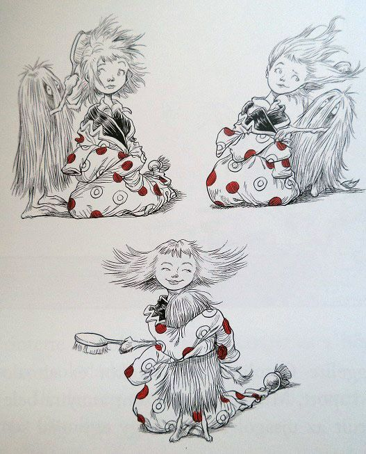 Chris Riddell's work - Ottlina / Ottoline