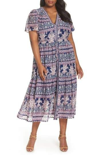 Plus Size Maxi Dress #plussize | Plus Size Fashion | Pinterest