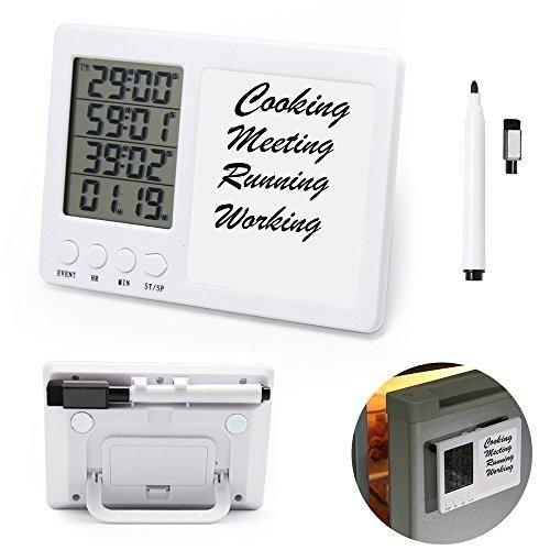 Oferta: 14.99€. Comprar Ofertas de Temporizador Cocina iBeek Digital Timer 4 Grupos Reloj Alarma Gran pantalla Cuenta Atrás LCD Soporte Magnético con Retráctil barato. ¡Mira las ofertas!