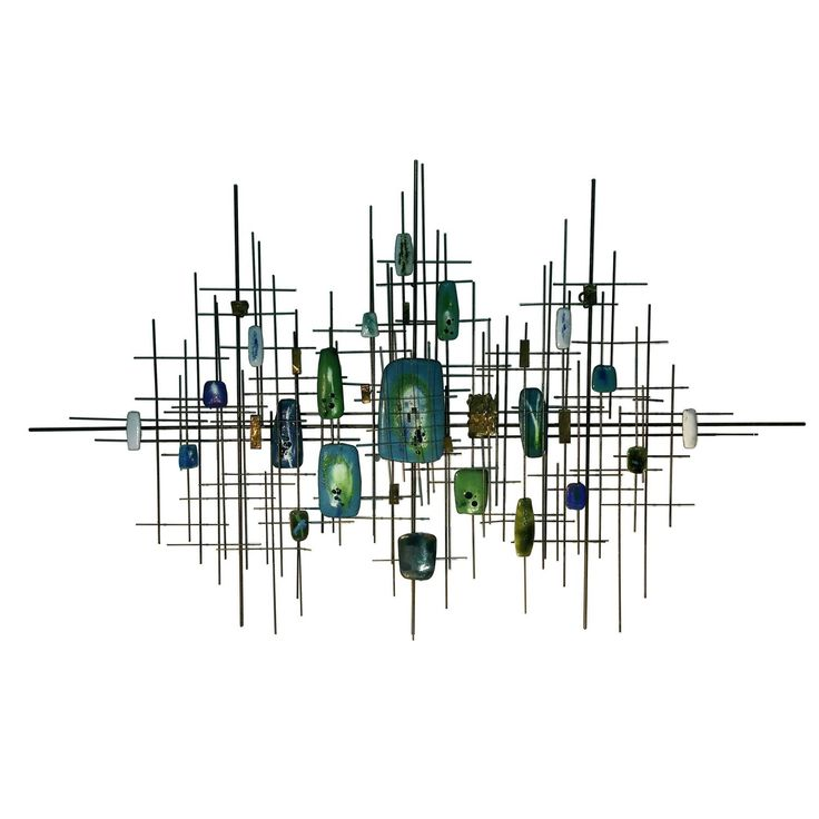 amazing modernist abstract colored enamel metal wall sculpture see more antique and modern wall - Metal Wall Sculpture