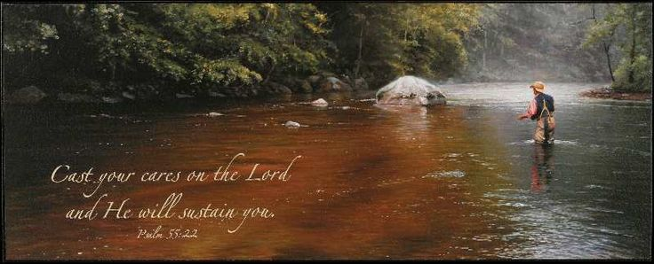 """Christian Wall Art - """"Cast Your Cares On The Lord"""""""