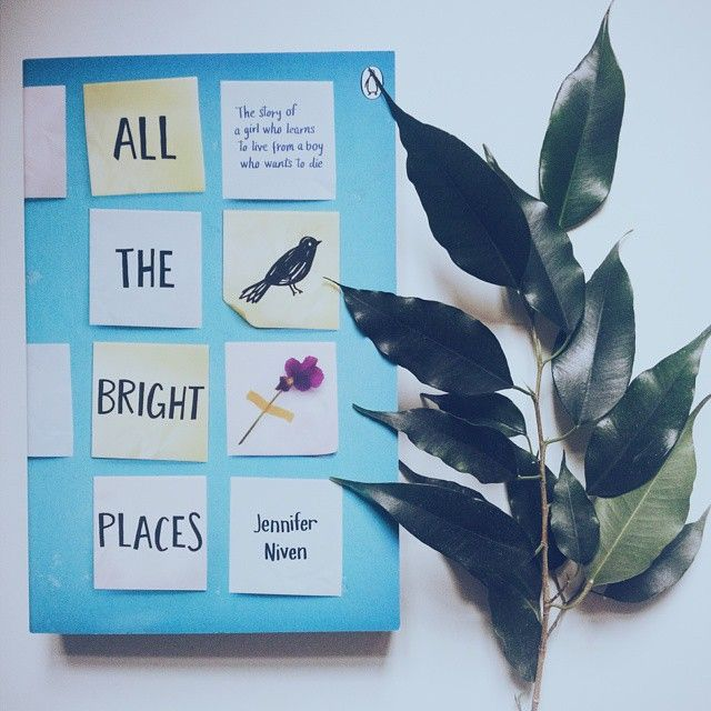 @ okian.ro All the Bright places by Jennifer Niven.The story of a girl who learns to live from a boy who wants to die. #decitit #summerbooks #youngadult #allthebrightplaces