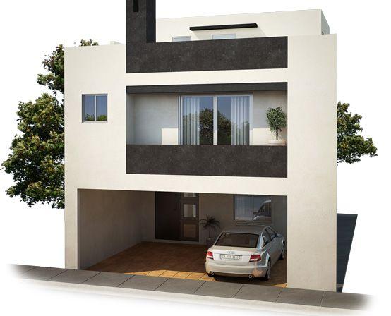 Modelo Galicia: Imponentes residencias de 3 niveles.