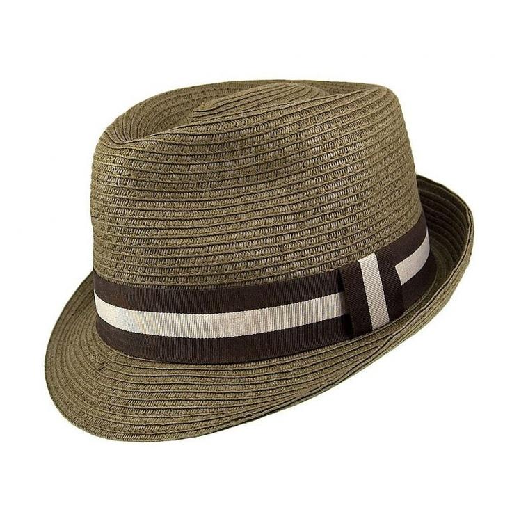 Chapeau rétro Ridley olive | HOMME PIN UP ATTITUDE : Parfait pour l'été et extrêmement confortable en fibre de Toyo tressée, on adore ce chapeau Ridley qui se porte décontracté avec le bord cassé ou non!  http://www.pinupattitude.com/gamme.htm?products_name=Chapeau+r%E9tro%20Ridley%20olive_id=15#  #homme #mensapparel #vintage #oldschool #rock #shopping #retro #50s #60s #rockabilly #psychobilly #pinup #accessoire #chapeau