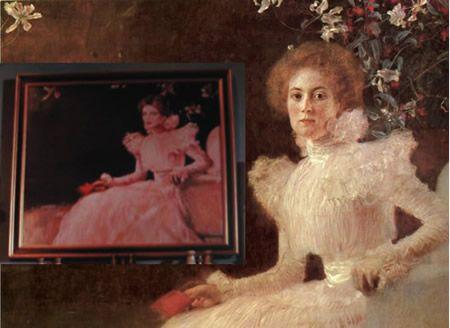 アイリーン・アドラーの肖像画