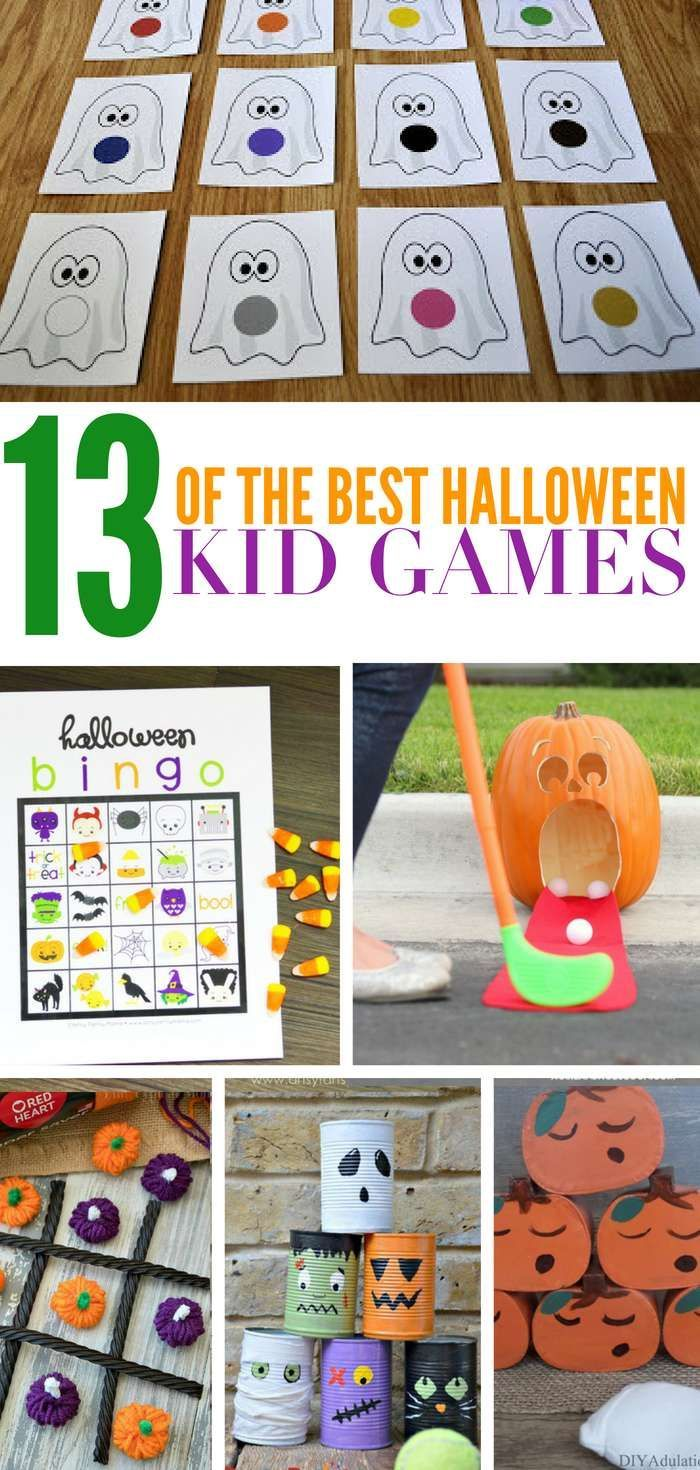 Check out these 13 DIY Halloween Games that are perfect