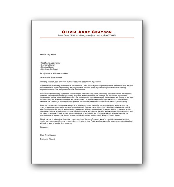 Publishing Cover Letter Example: Cover Letter Publishing Company