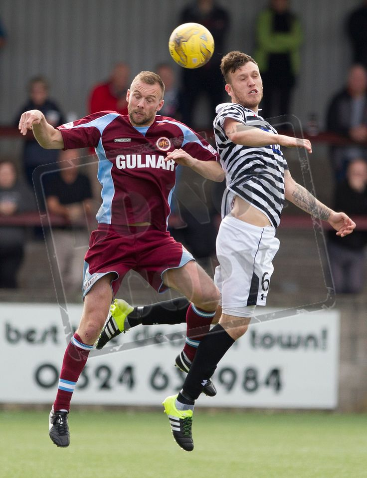 Queen's Park's Adam Cummins in action during the Ladbrokes League One game between Stenhousemuir and Queen's Park.