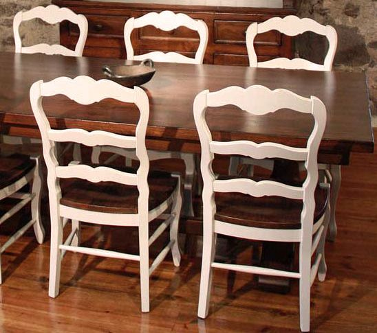 French Country By Katemadison Ladderback Dining Chairs Add Clic Elegance To