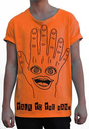 T-shirt från theTshit - TALK TO THE HAND