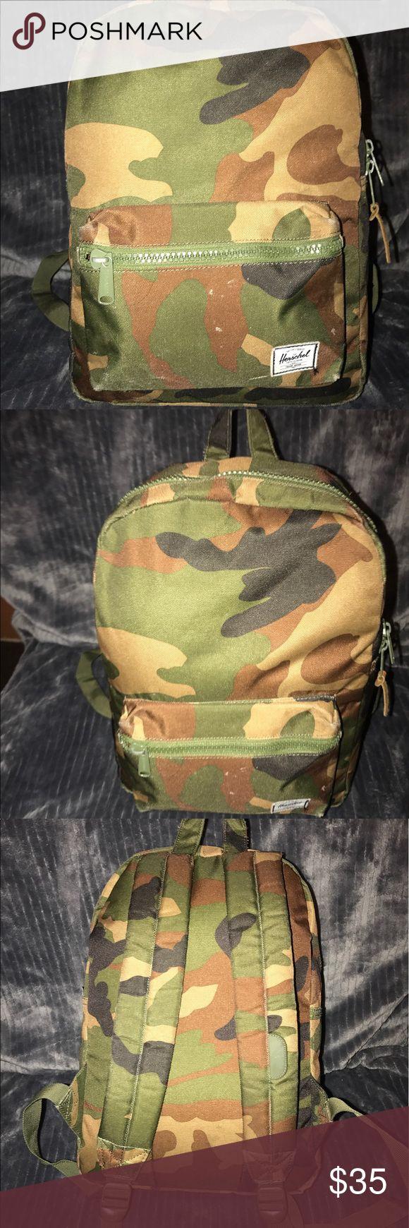 Herschel Camo Backpack Small Herschel camo backback Herschel Supply Company Bags Backpacks