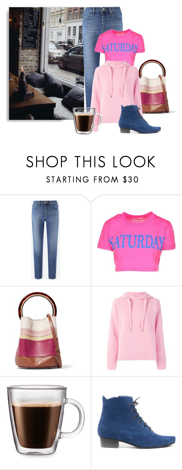 """""""Relaxing Saturday"""" by enchantedseptember ❤ liked on Polyvore featuring Uniqlo, Alberta Ferretti, Marni, Closed and Frontgate"""