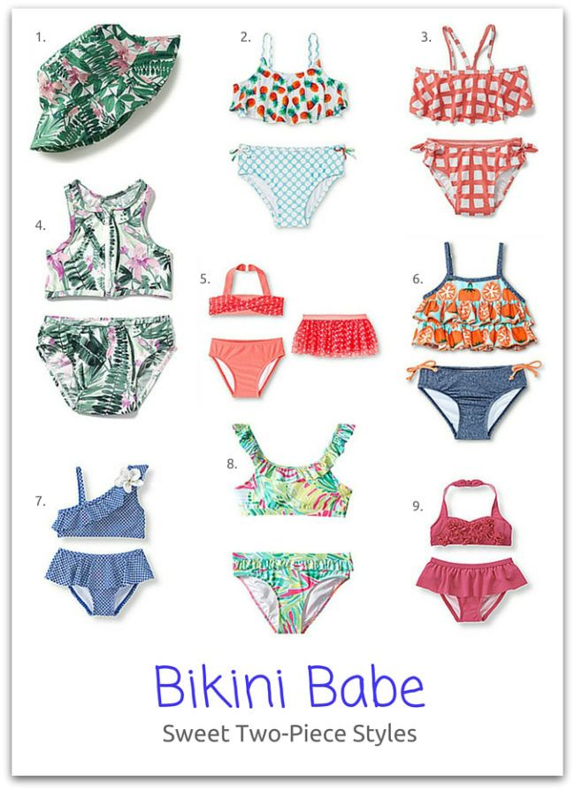 Bikini Babe: Sweet Two-Piece Styles for Your Little Lady