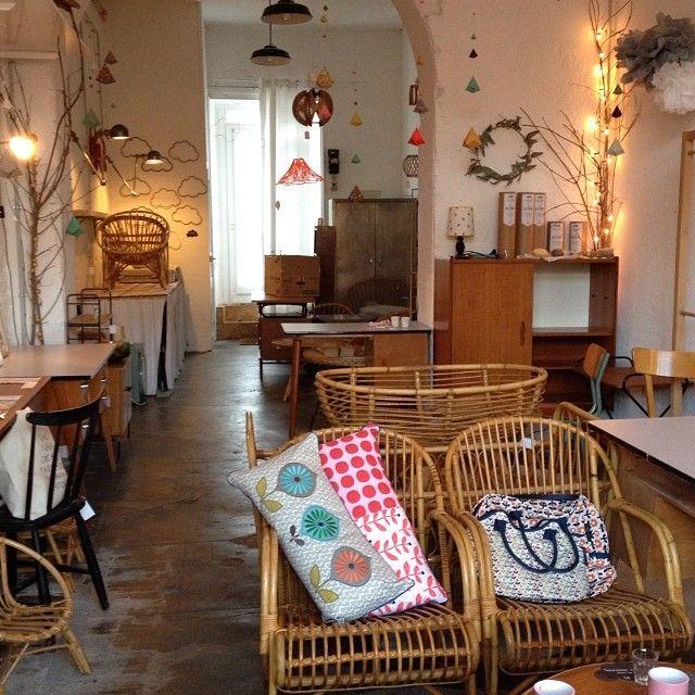 France Nantes Atelier Du Petit Parc Vintage Furniture Crafty Pop Up Store Projects