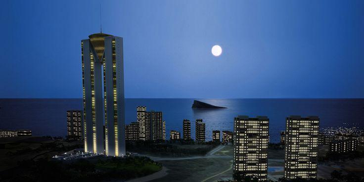 TORRE INTEMPO by CITYSEA INTERNATIONAL GROUP, BENIDORM, ALICANTE. COSTA BLANCA.   CITYSEA INTERNATIONAL