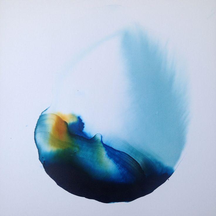 Ilaria Franza Mixed tecnique in canvas  60 x 60 cm 2016  Private collection