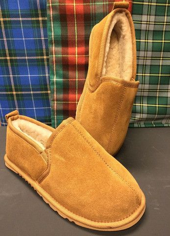 Men's Sheepskin Slippers, $119.95
