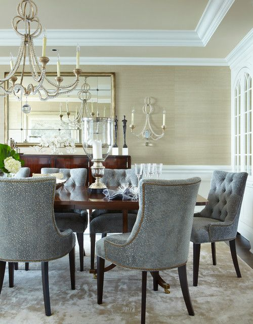 find this pin and more on dining room by mamapenny - Gray Dining Room Furniture