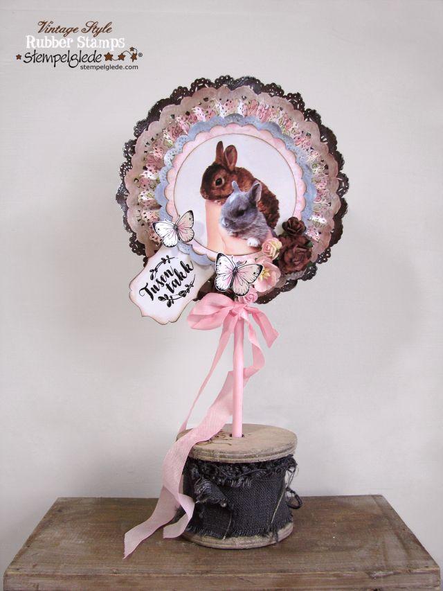 Lollipop 'Thank you' card - Gunhild Johanne Gjessing Bay - Stempelglede :: Design Team Blog