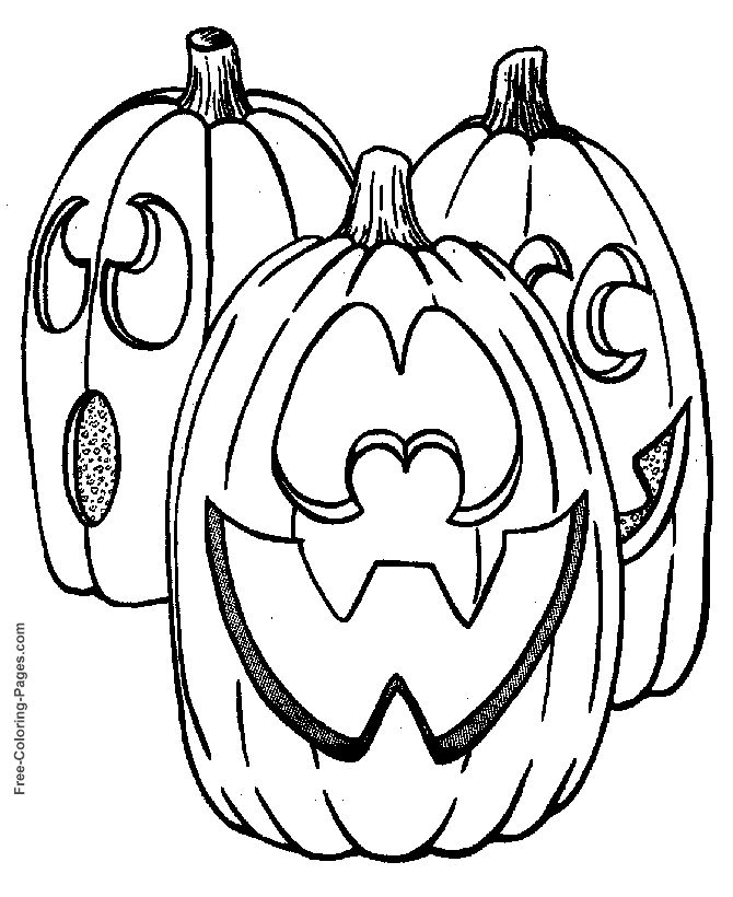 halloween coloring pages jack o lanterns