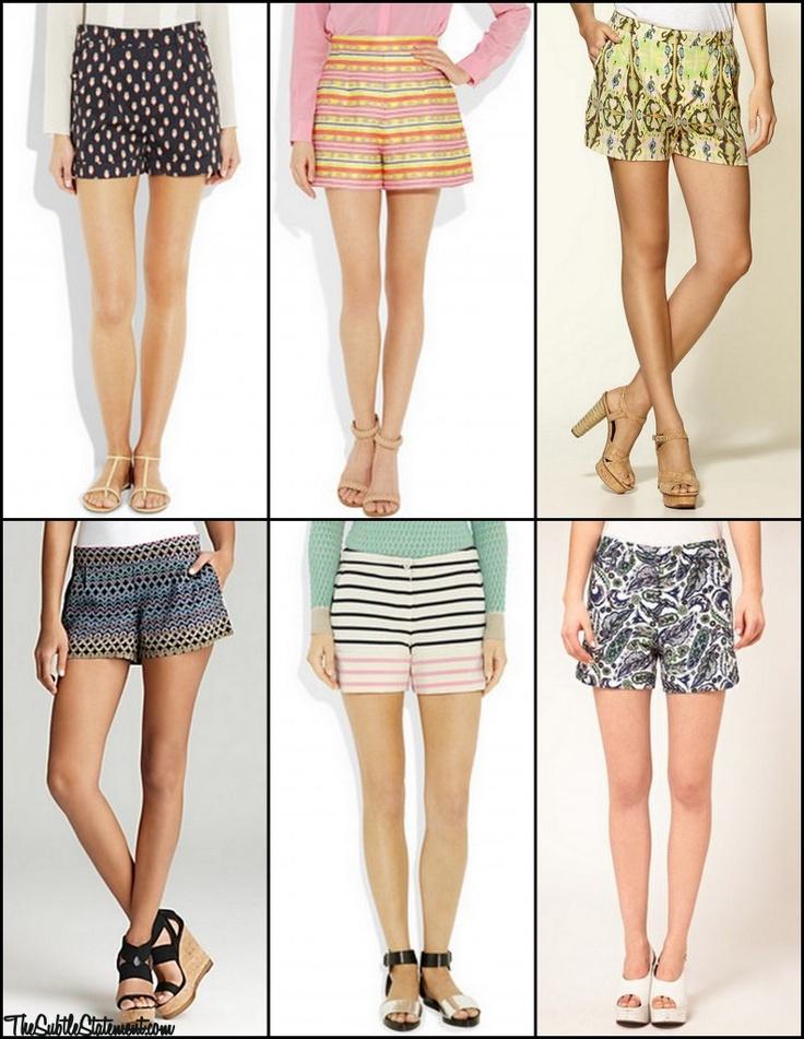 Printed Shorts TheSubtleStatement.com #spring #trend