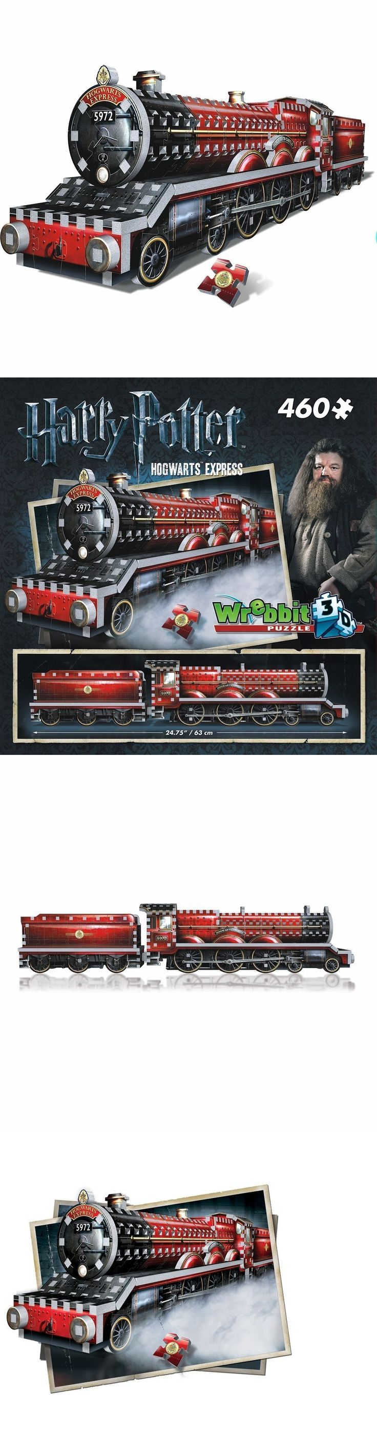 3D Puzzles 19186: Harry Potter Hogwarts Express Train Wrebbit Puzz-3D Jigsaw Puzzle 460 Pieces,New -> BUY IT NOW ONLY: $31.99 on eBay!