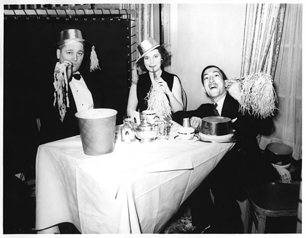 New Year's Eve party, 1937. Minnesota Historical Society Photograph Collection.
