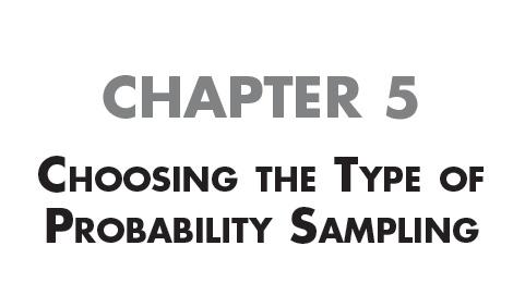 types of research sampling