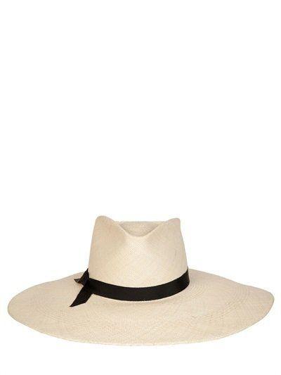 """Pin for Later: Behaltet einen kühlen Kopf mit diesen coolen Sommerhüten  Gladys Tamez Millinery Panamahut Aus Stroh """"The Stella"""" (460 €)"""