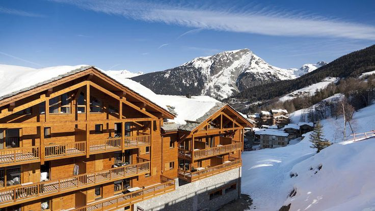 Make your wish come true with these limited offers. This great collection new built ski apartments in # Saint-Foy is offering you the opportunity to buy an Eco-Friendly 4* leaseback development # L'Etoile des Cimes for this winter. Prices start from €185,333.