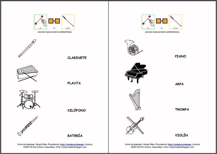 materiales fichas de lectura  u0026quot los instrumentos musicales