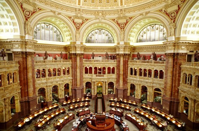 See a guide to exploring the Library of Congress on Capitol Hill in Washington DC, see details on exhibits, research facilities, concerts and more.