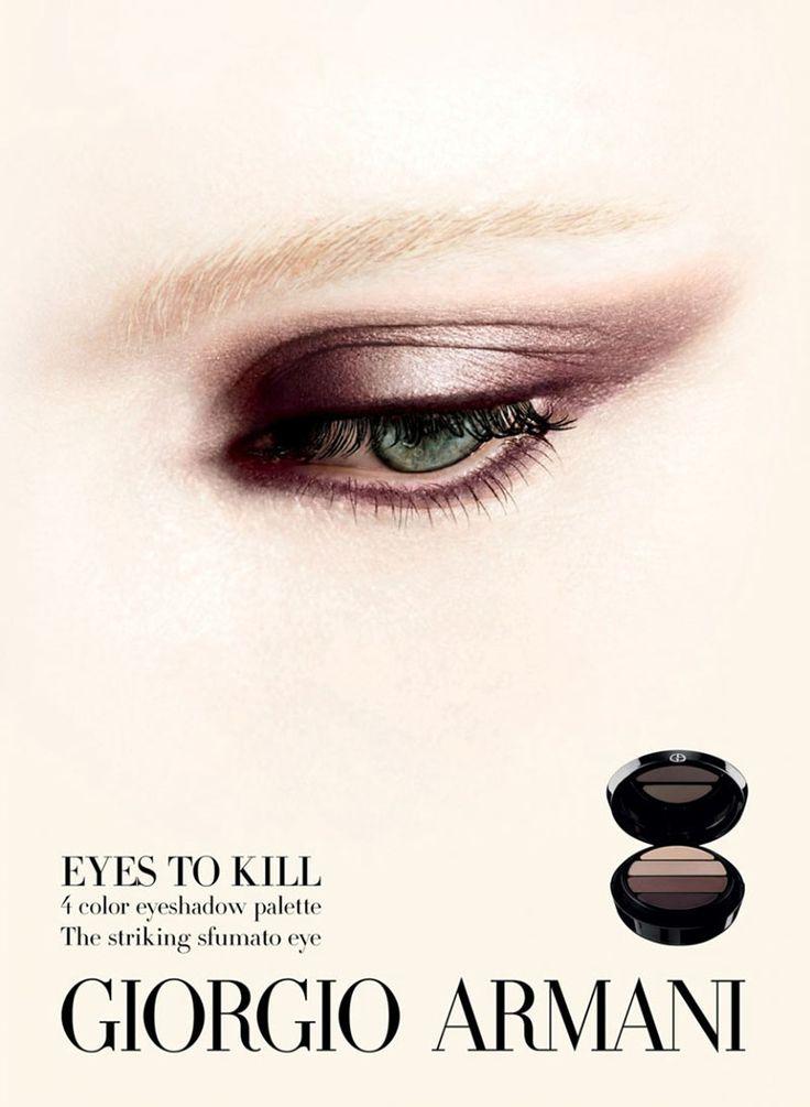 Patricia van der Vliet and Elena Melnik Star in Giorgio Armani Beautys F/W 2012 Campaign