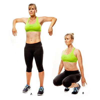 Tone Up With Alison Sweeney: Try these moves—from celeb trainer Steve Lee—3 days a week, 1-3 times per session. Do each one for 45 seconds, pause for 15 seconds, then do the next. | Health.com