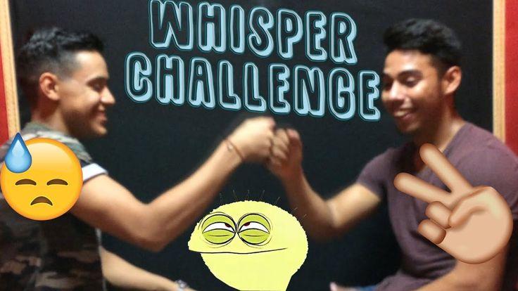 Whisper challenge (Con mi amigo cuate)/Pruebo el perico.